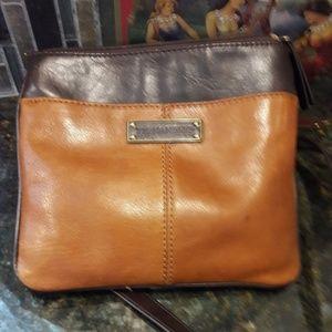 Fabulous Fall Tignanello leather cross-body bag